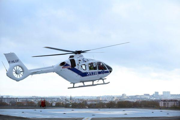 Le blessé a dû être évacué vers l'hôpital Purpan de Toulouse.