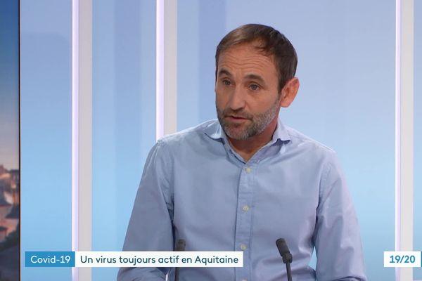 Laurent Filleul est épidémiologiste, responsable de l'agence santé publique France en Nouvelle-Aquitaine