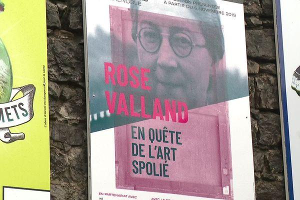 """""""Rose Valland. En quête de l'art spolié"""", à voir jusqu'au 27 avril 2020 au Musée Dauphinois. Entrée gratuite."""