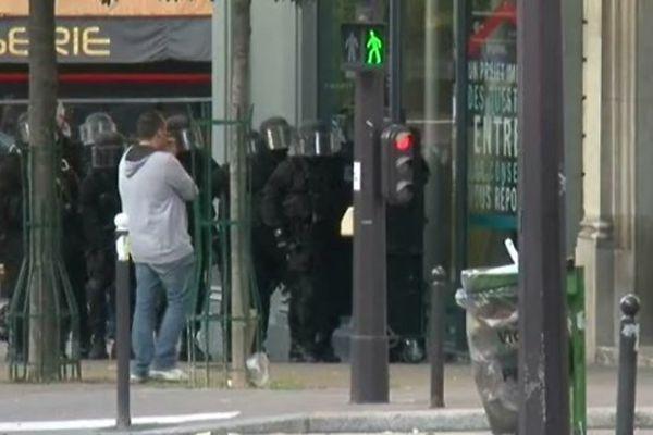 Prise d'otages dans le CIC du 13e arrondissement