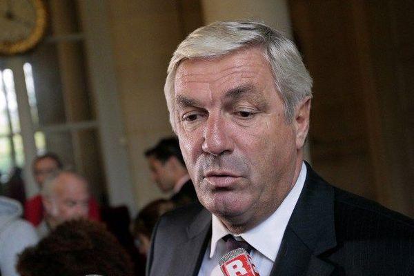 François Sauvadet, président du conseil départemental et député de la 4e circonscription de Côte-d'Or