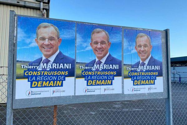 Thierry Mariani, est candidat à la présidence de la Région Paca. A la tête de la liste Rassemblement National.