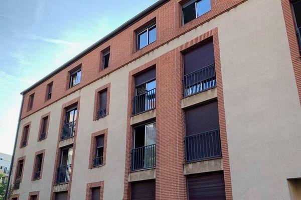 La résidence du 16, impasse de Barcelone, à Toulouse.