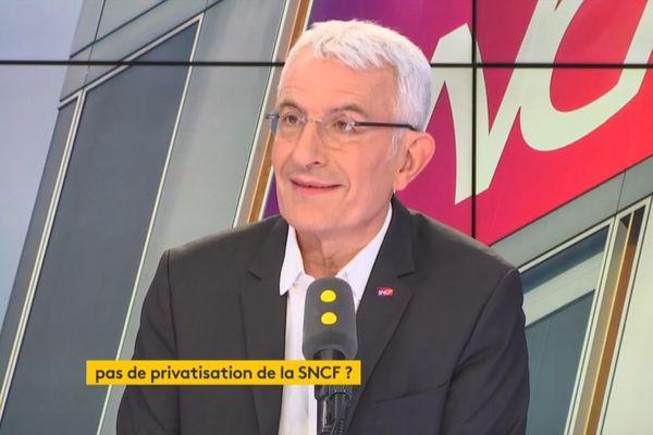 Guillaume Pepy était l'invité de France Info ce mardi matin.