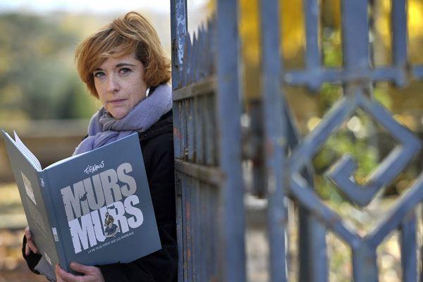 Chloé Verlhac, la veuve du dessinateur Tignous, assassiné dans l'attaque contre Charlie Hebdo.