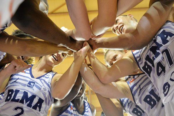 Les basketteuses du BLMA lors de la saison 2018/2019