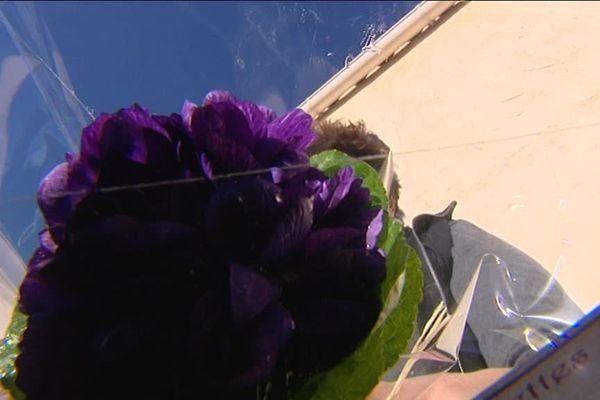 Le bouquet de violettes, symbole de l'amour caché !