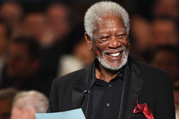 L'acteur américain Morgan Freeman. Le festival de Deauville lui rendra hommage ce vendredi 7 septembre