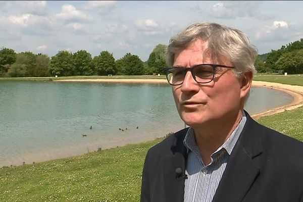 Jean-Yves Ménard, maire de Villiers-sur-Loir