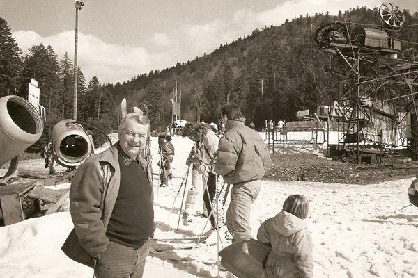 La Bresse dans les années 60.