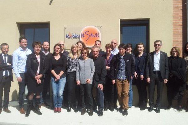 La maison de santé de Rieux-Volvestre (31) a été inaugurée ce samedi.
