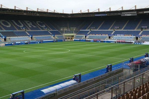 Le stade de la Meinau à Strasbourg.