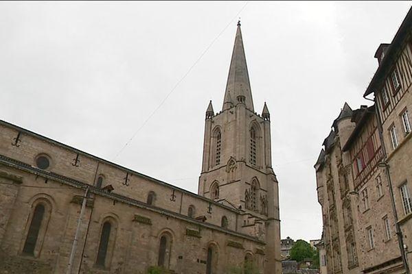 La cathédrale de Tulle est en très bon état mais nécessite encore quelques mises aux normes électriques