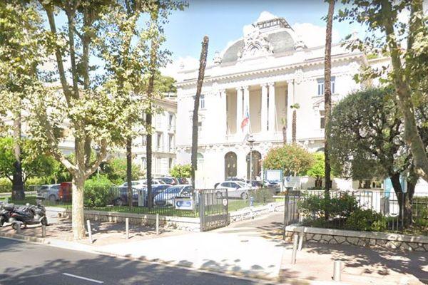 La chambre de commerce et d'industrie de Nice (Alpes-Maritimes).
