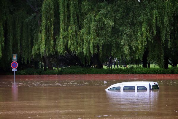 Inondations à Bruay.