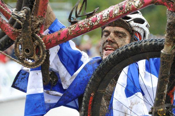 Periklis Ilias, Champion du Monde de VTT Marathon