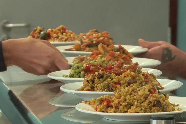 Un menu 100% végétal proposé ce mercredi 14 octobre au Crous de Poitiers.