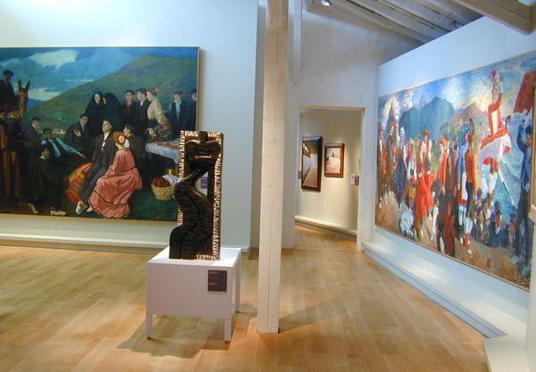 Les salles d'exposition du musée vont bientôt retrouver leur public