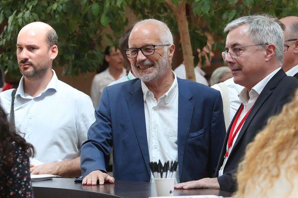 Le maire de Dijon, François Rebsamen, ce jeudi 23 août 2018 à La Rochelle.