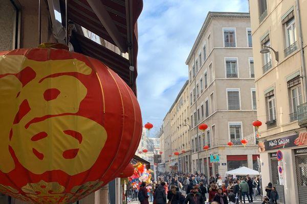 Lyon, les festivités du Nouvel An Chinois dans le quartier Guillotière ce dimanche 26 janvier 2020