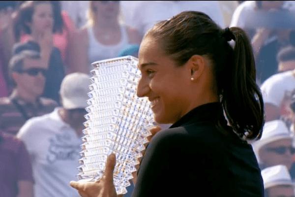 WTA - Strasbourg : la lyonnaise Caroline Garcia remporte la finale ! 21/5/16