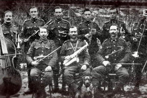 Des soldats à la Talbot House à Poperinge durant la guerre 14-18