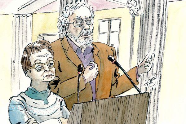 Les médecins auditionnés lors du procès Bardon mardi 26 novembre Dr Gonthier et Dr Devendeville.