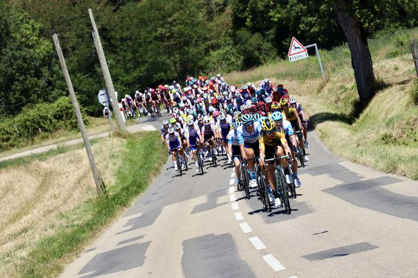 La première étape du Tour de l'Ain cycliste part du parc des oiseaux de Villars-les-Dombes pour se terminer à Bourg-en-Bresse (141 km de plaine). (photo archives 2019)