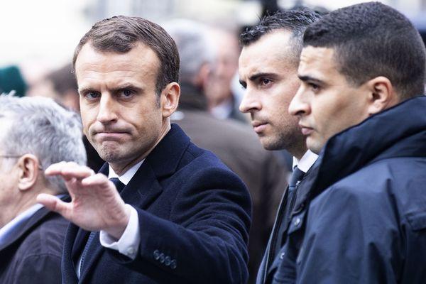 Le président de la République a rencontré au fort de Nogent-sur-Marne des gendarmes mobiles creusois (illustration)