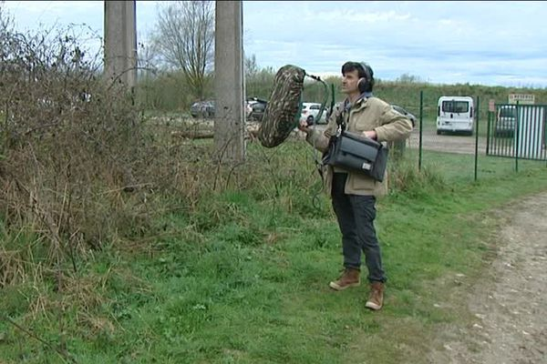 Grand-Laviers (80) : une balade avec un attrapeur de son