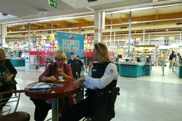 Un café avec un policier est une opération organisée par les commissariats de Brive-la-Gaillarde et de Tulle ce mercredi 9 octobre 2019.