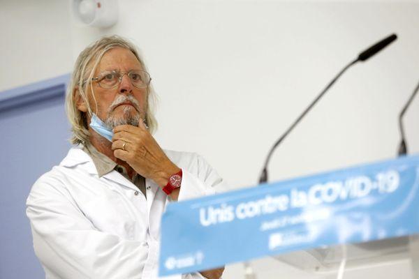 Le Pr Didier Raoult, directeur de l'IHU Méditerranée Infection