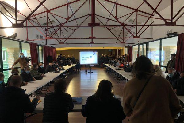 Le Syvadec présente ce samedi 9 janvier le projet de centre d'enfouissement aux 59 élus de la communauté de communes Pasquale Paoli.
