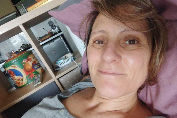 Toulouse - Martine Jordana a déclaré une maladie auto-immune très handicapante après avoir contracté le virus. 2021.