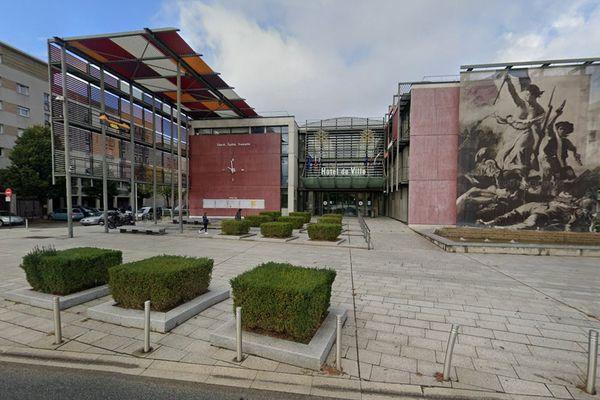 L'hôtel de ville d'Échirolles en Isère