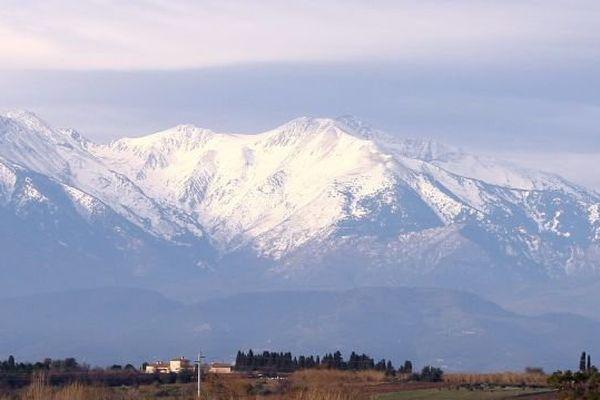 Le massif du Canigou illustration