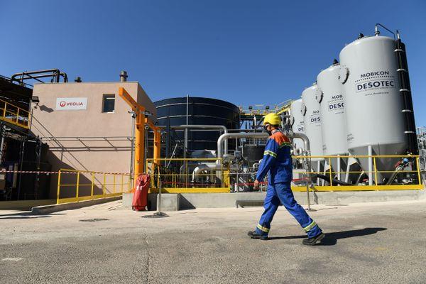 L'usine Alteo de Gardanne (Bouches-du-Rhône) le 4 septembre 2020.