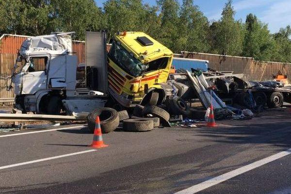 L'accident a entraîné des perturbations importantes sur la circulation dans le sens Nancy-Toul