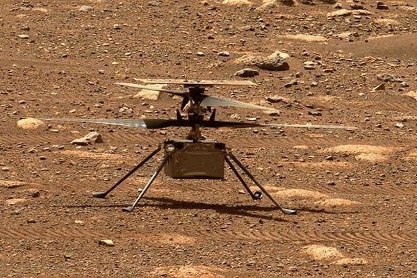 Ingenuity sur Mars, le 8 avril 2021