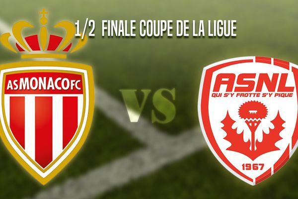 Monaco - Nancy 1/2 finale Coupe de la Ligue.