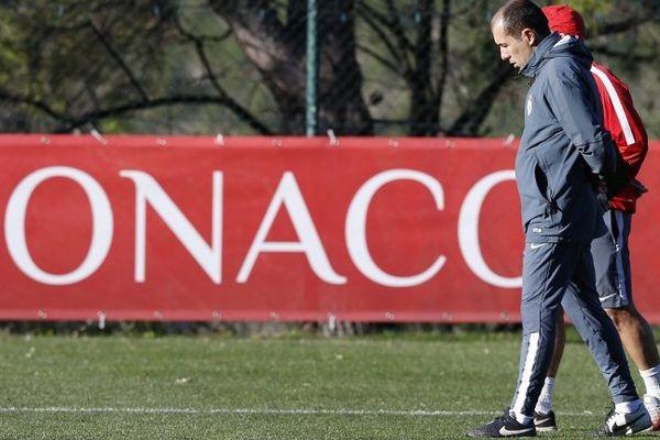 L'entraîneur portugais de l'AS Monaco, Leonardo Jardim.