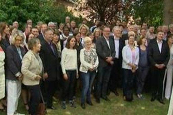 Les candidats PS se sont retrouvés à Roye autour de la tête de liste Pierre de Saintignon pour lancer officiellement la campagne des régionales.