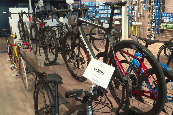Dans le Valenciennois, de nombreux magasins de vélos connaissent une pénurie suite à une forte demande due à la crise du coronavirus.