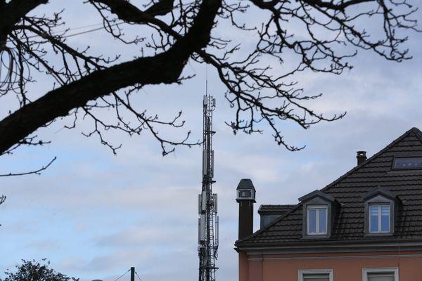 Première antenne relais 5G à Mulhouse