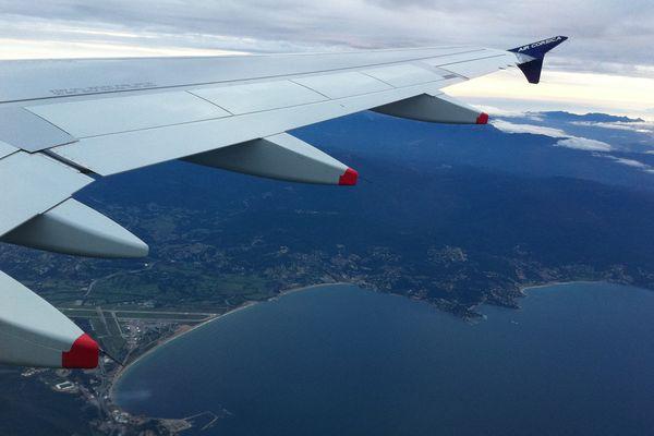 Sur le vol Ajaccio-Liège, le 16 janvier 2014