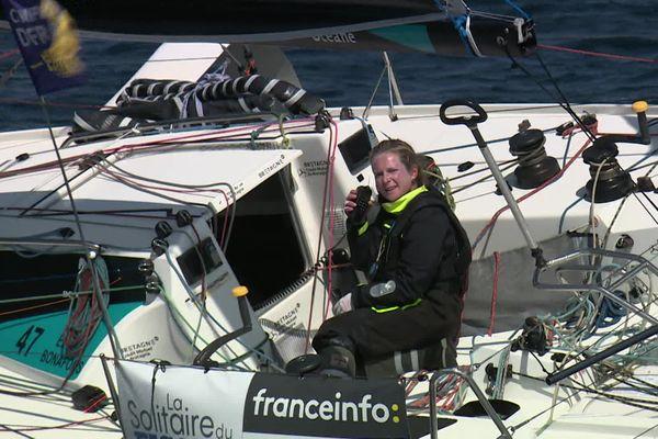 Elodie Bonafous avait fini 25ème de la Solitaire en 2020. Pour sa 2ème participation elle vise le Top10.