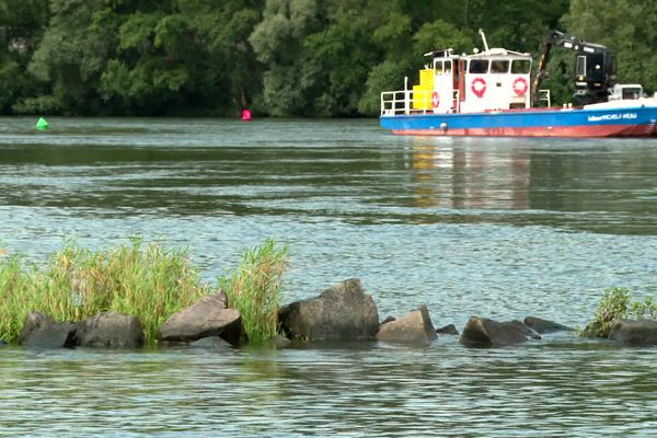 700 épis ont été construits sur la Loire. Une centaine vont être raccourcis ou suppimés