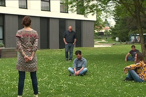 Cours d'hypnose à l'Université de Bourgogne dispensé par Antoine Bioy.