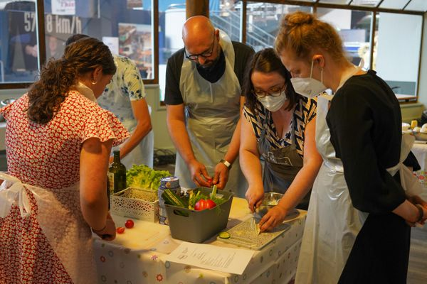 Jeen Heine anime le cours de cuisine