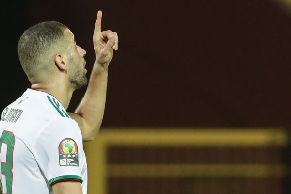 Islam Slimani prêté par Leicester à l'AS Monaco.